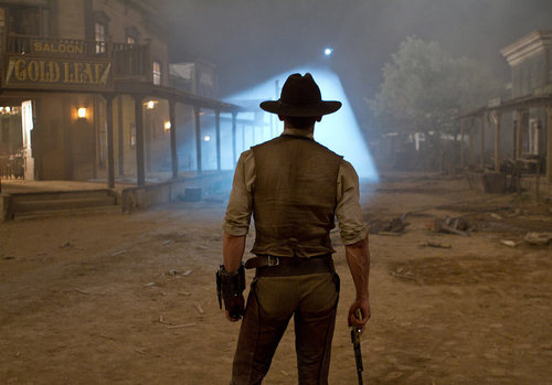 'Cowboys & Aliens' Production Still ~ Daniel Craig as Jake Lonergan