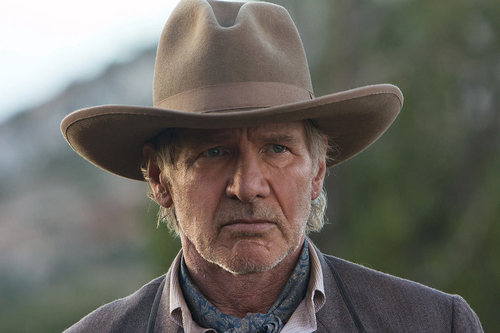 'Cowboys & Aliens' Production Still ~ Harrison Ford as Col. Woodrow Dolarhyde