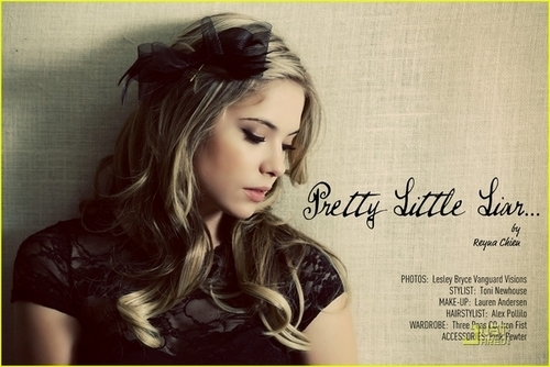 TROIX Magazine (Ashley Benson - December 2010) - pretty-little-liars-tv-show Photo