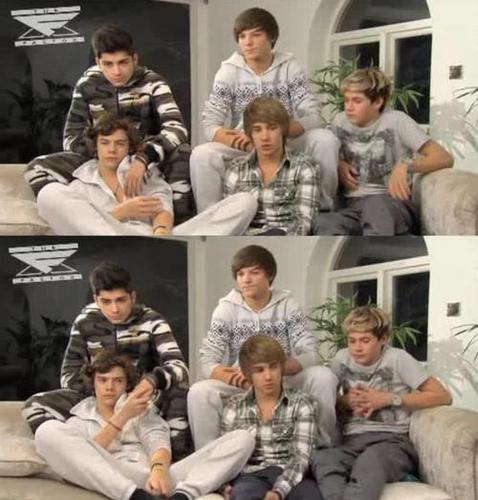 1D Behind The Scenes (Zayn Is Holding Harrys Hand Aww) 1D All The Way :) x