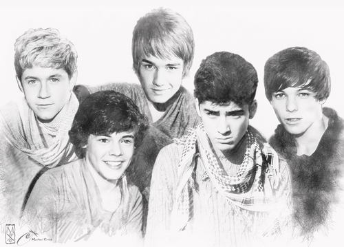 1D Drawing Very Rare Pic :) x