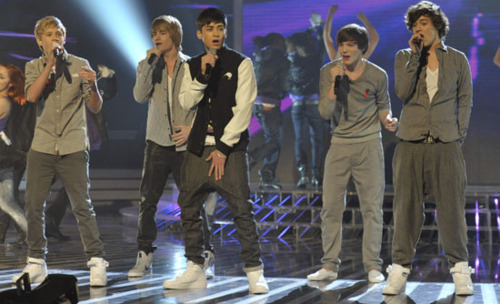 "1D Semi Final 1st Song ""Only Girl In The World"" :) x"