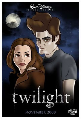 A Disney-fied Twilight poster