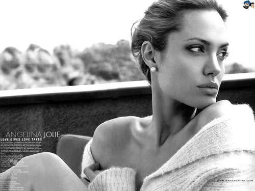 Angelina Jolie wallpaper probably containing a barrow titled A.Jolie