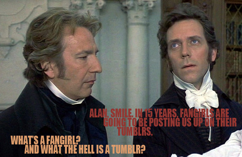 Alan & Hugh :D ...so funny!!!