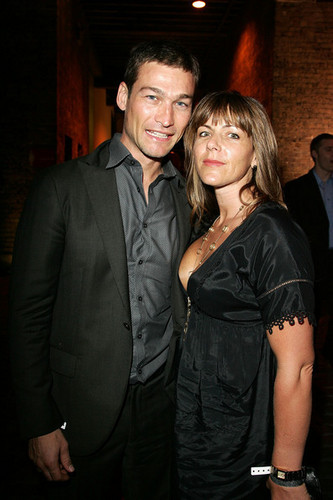 Andy  and  his wife Vashti Whitfield