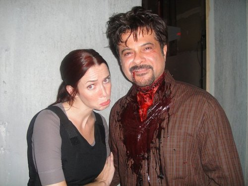 Annie & Anil Kapoor on S8 Set