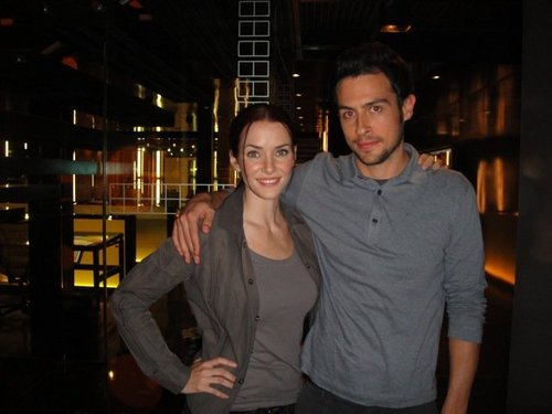 Annie & John Boyd on S8 Set