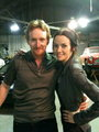 Annie & Tony Curran on S8 Set - 24 photo