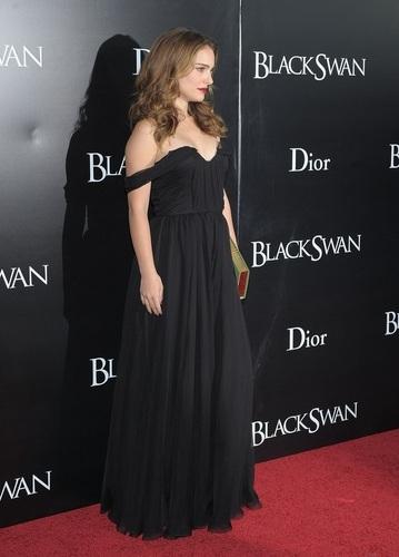 Attending the New York Premiere of 'Black Swan' at Ziegfeld Theatre
