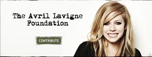 Avril Lavigne Foundation shoot 2010