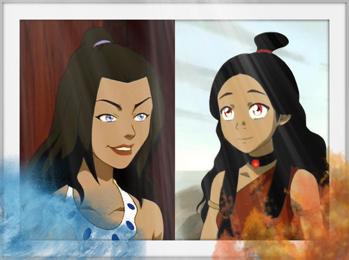 Azula and Katara
