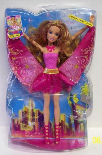 Barbie A Fairy Secret: Fashion Fairy Friend doll in box