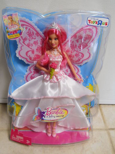 búp bê barbie A Fairy Secret: Princess Bride (Graciella?) doll in box