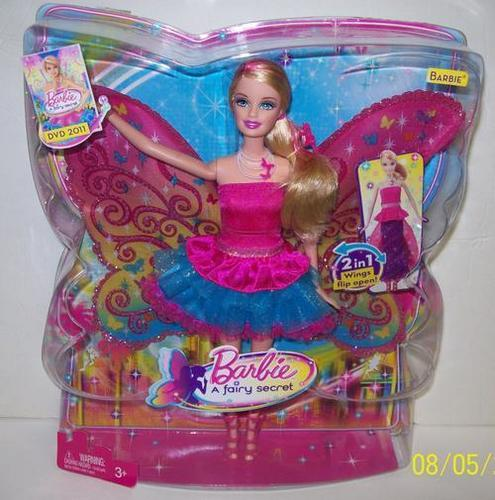 Barbie: A Fairy Secret doll (transforming)