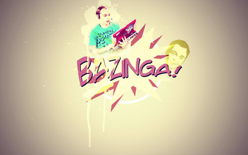 The Big Bang Theory wallpaper called Bazinga!