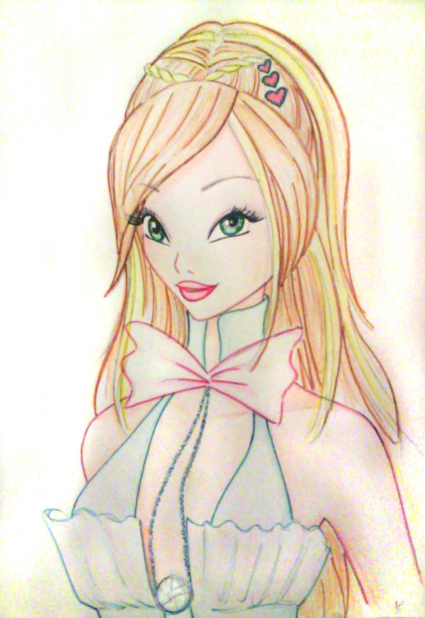 Beautiful Winx Club Art Sketches