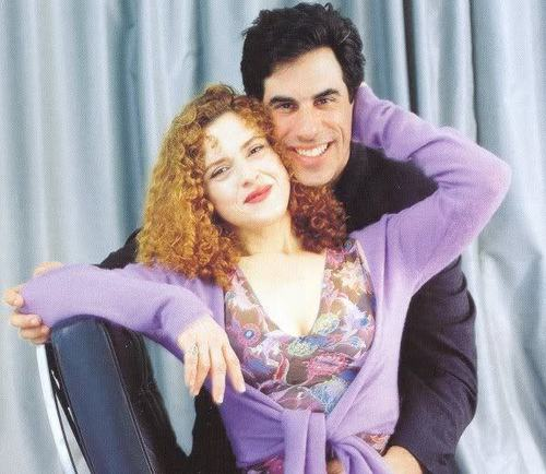 Bernadette Peters and Hubby