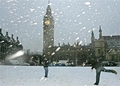 Big Ben At Christmas