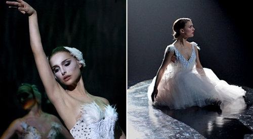 Natalie Portman wallpaper containing a bridesmaid and a dinner dress called Black Swan