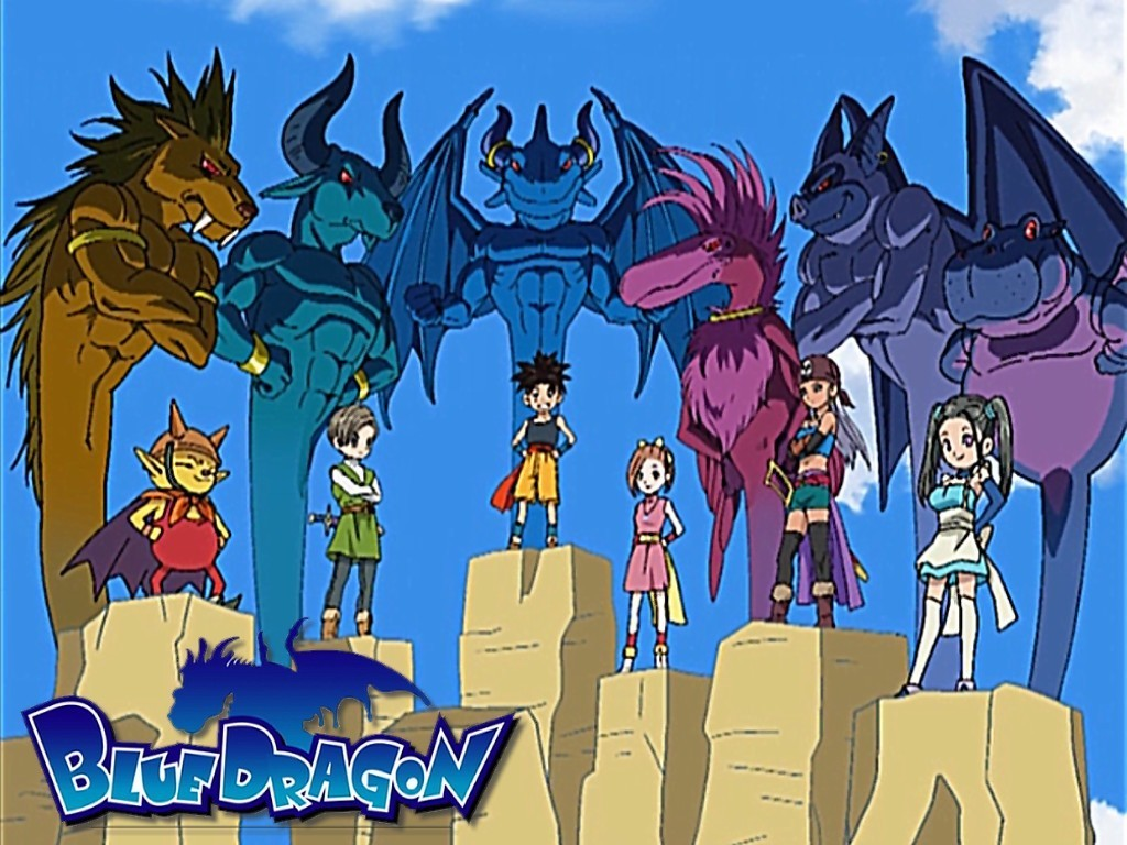 Blue Dragon - Blue Dragon Wallpaper ...