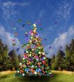 Butterfly Christmas Tree - bright-colors photo