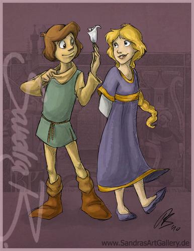 Calla and Cavin