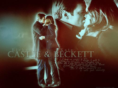 замок & Beckett first Kiss <3