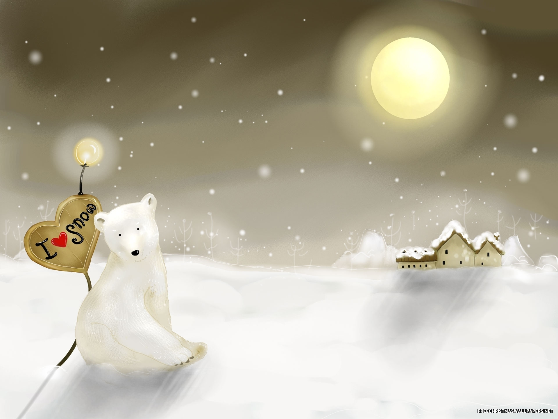 Christmas Teddy Bear Wallpaper: Eye Touching Christmas Backgrounds