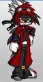 Clyde falcone the hedgehog - shaclowstalker-and-silvaze_4_life photo