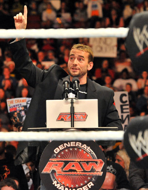 Cm Punk and his Diet Soda again!