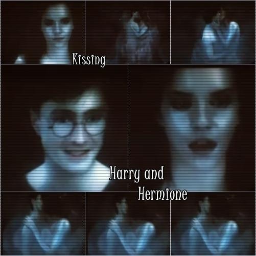 DH-HarryHermione s'embrasser