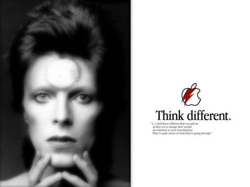 Classic Rock wallpaper probably containing a portrait entitled David Bowie