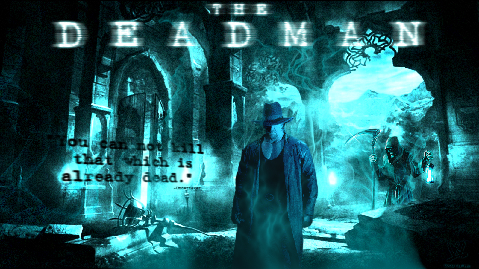 undertaker images deadman hd wallpaper and background photos