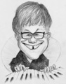 Elton John - classic-rock fan art