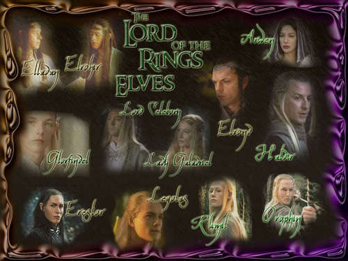 Elves from Middle Earth - lord-of-the-rings-elves Wallpaper