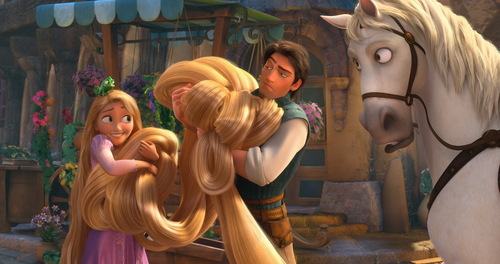 Flynn and Rapunzel