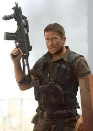 Gerard Butler wallpaper with a rifleman, a green beret, and a navy seal called Gerard Butler