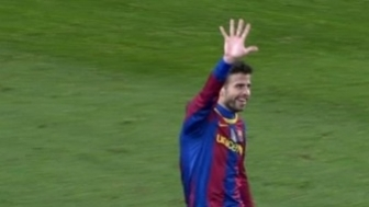 Gerard's hand for the 5 goals against R Madrid.