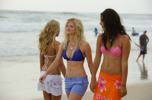 Girls at the plage