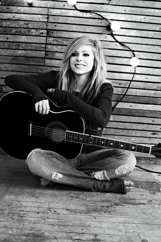 Goodbye Lullaby photoshoot
