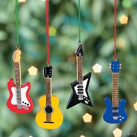 guitarra ornaments!