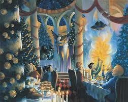 Harry Potter wallpaper possibly containing a brasserie titled Harry Potter Christmas