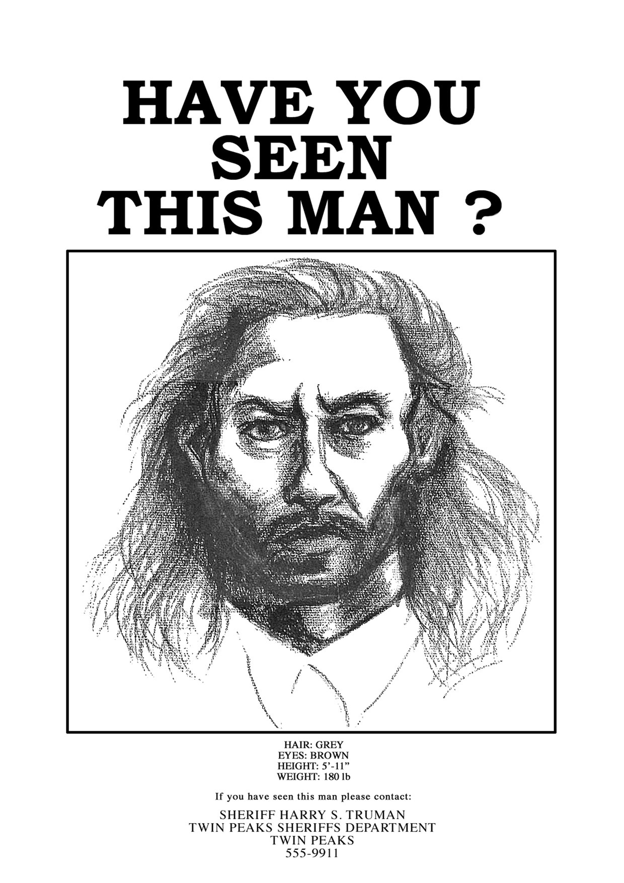 Have anda Seen This Man?