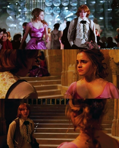 hermione granger wallpaper titled Hermione & Ron