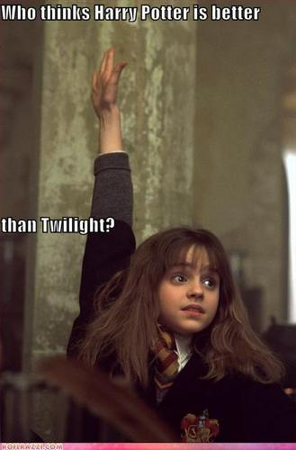 Hermione Thinks Harry Potter Is Better Than Twilight