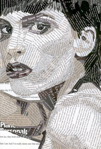Hilary Swank Collage with Text