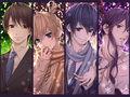 Hiyama Kiyoteru, Kagamine Len, Kaito, Kamui Gakupo