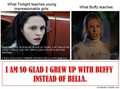 I am so glad I grew up with Buffy - harry-potter-vs-twilight photo