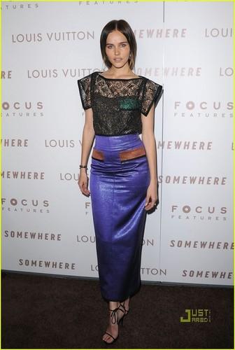 Isabel Lucas: 'Somewhere' Premiere!